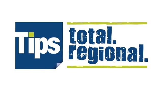 "Werbespot ""Tips - total. regional."""